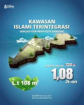Hanya 1.08Juta/meter Kavling Murah Syariah View Kota Bandung Baleendah