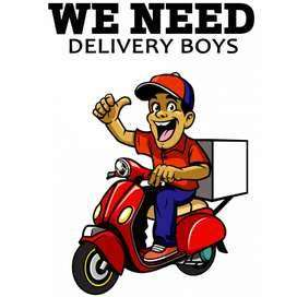 We are Hiring Delivery Boys!
