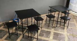 Meja foodcourt meja makan meja cafe meja lipat meja kedai meja kedai