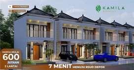 Rumah DP 15 Juta Pinggir Jalan Pengasinan Sawangan Depok