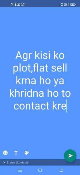 All type of flats and plots are availble here so contact fast