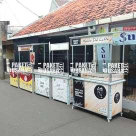 -Dijual Booth Portable / Meja Lipat / Booth Makan&Minum = lada paprika