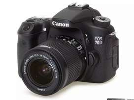 CANON 70D VERY GOOD CONDITION