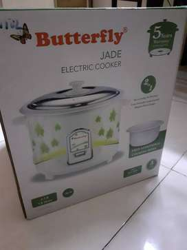 Butter fly rice cooker with warnty new one unused packed