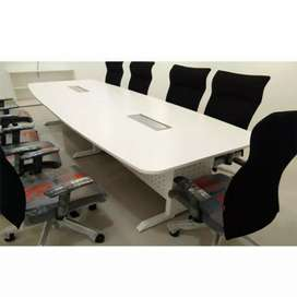 Meeting & conference table size 4×8 steel frame
