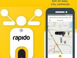 Chennai Rapido Hiring for Bike riders