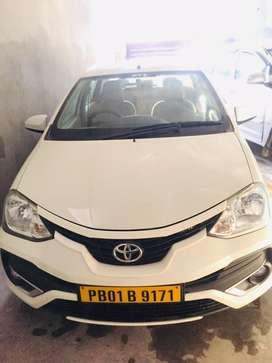 Toyota Etios 2018 Diesel Good Condition