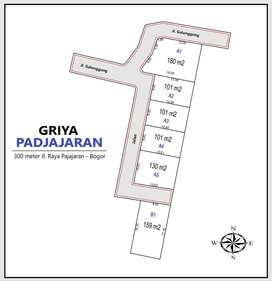 Dekat Kebun Raya Bogor, Kavling SHM Promo Cicilan Flat
