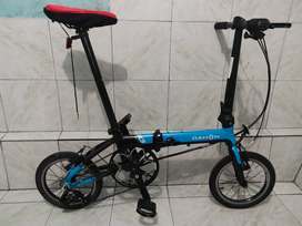Dahon K3 model blue