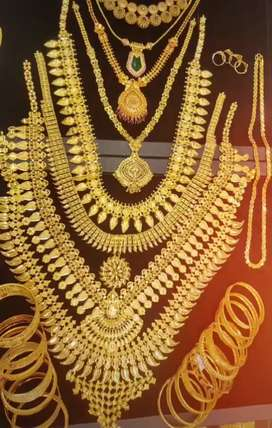 Gold  jewellery  woraks.  Pure  916 ഗ്രാം 4625