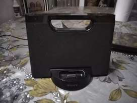 Genuine Sony Speaker Docking Station Android IPhone Ipod TV imported