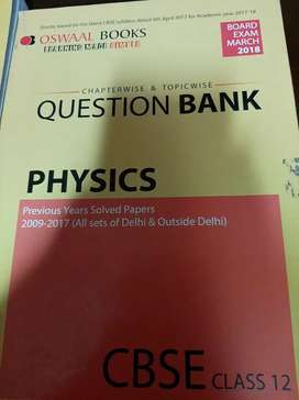 Oswaal Question bank Physics