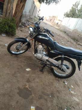 Suzuki Gd 110 Hu 2017 model Deman 85 its also a good rate for Brokers
