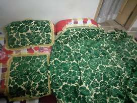 Only one time used heavy bed sheet