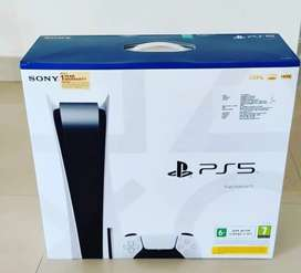 Sony PlayStation PS5 + disc version indian
