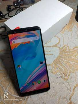 One Plus 5T(64GB,6GB RAM) in new condition