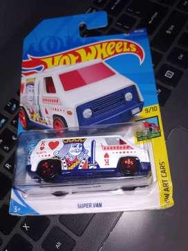 Hot Wheels 'Super Van' HW Art Cars