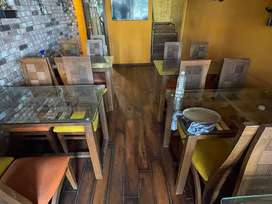 commercial hotel setup carpet area 800sqft. and is very good locality