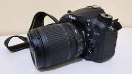 Nikon D7100 + Lensa Kit AF-S Dx Nikkor 18-105mm f/3.5-5.6