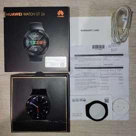 Jual Rugi Termurah Huawei Watch GT 2E Black Mulus Komplit
