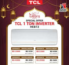 TCL Air conditioner new model  Assan installment pr ab hasil kry