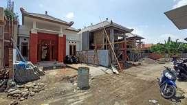 Rumah Dengan LB 50m2 Konsep Klasik Jawa Disisi Timur Jogja