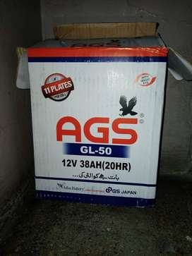 AGS 11 Plate Battery