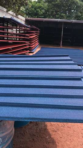 Kanopi Spandek Pasir warna Biru dan Merah