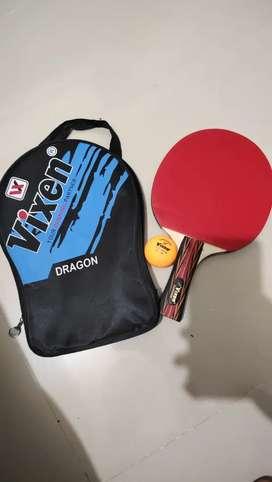 Vixen DRAGON Table tennis Racquet with 1 Vixen 40+mm seam ball