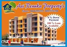 100% loan 1rk 430 sq.ft WITH LIFT nalasopara east