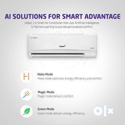 Livpure 1.5 Ton 3 Star Split Inverter AC with Wi-fi Connect - White 0