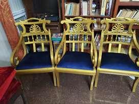 Teakwood Chairs