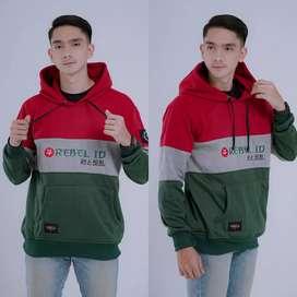 Jaket sweater hoodie murah original rebel id