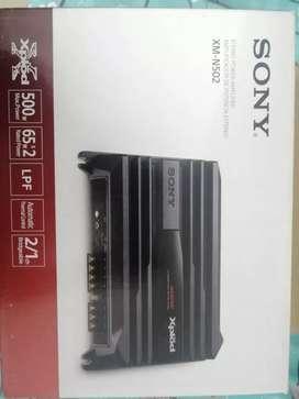 "Sony Xplod stereo power amplifier 500W, & Sony Xplod Subwoofer 12"""