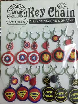 Super Hero Keychains