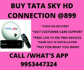 BIG SALE ON TATA SKY HD CONNECTION