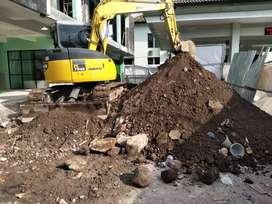 Tanah Urug Murah dan Jasa Buang Puing Bangunan Sampah Proyek