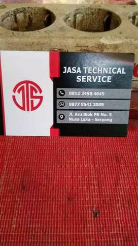 Jasa service AC .