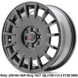 velg mobil Rally Jd8166 Hsr R16x7 H8x100-114,3 et 38 Smb