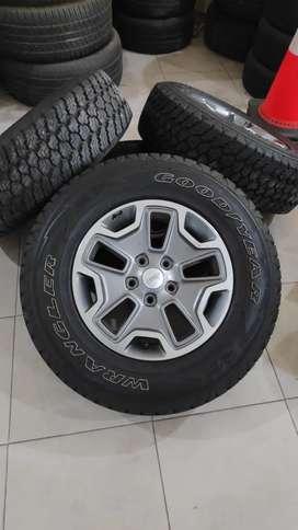 Velg jeep rubicon ori asli OEM