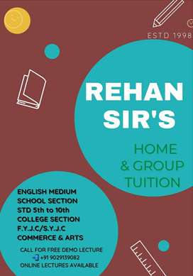 Rehan sir's Home & Group Tuition.