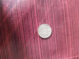 Old coin 1/4 rupee