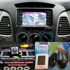 Paket dobledin kamera antena tv buat Toyota Innova
