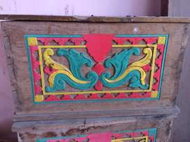 Kotak kayu jati