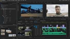 Jasa editing video , dan ajar premier pro dari dasar