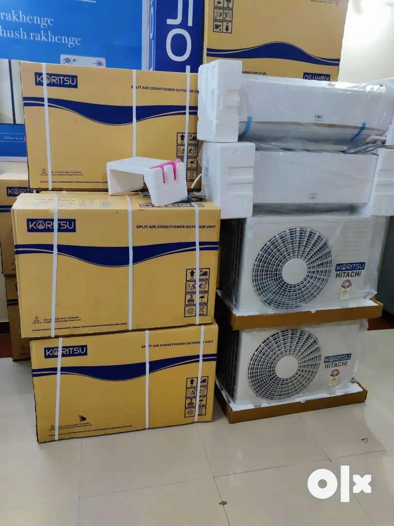HITTACHI 1.5 TON SPLIT AC BOX PACK ONLY RS 29000