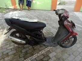 Suzuki spin th 2008 plat BN Sumatera