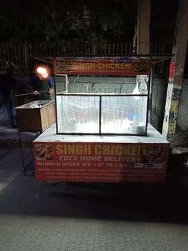 Chicken redhi with running adha daily 2,3 thousand