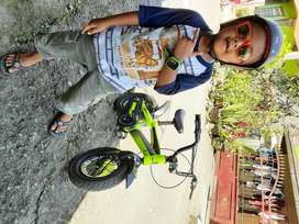 Sepeda anak 12inchi ban besar