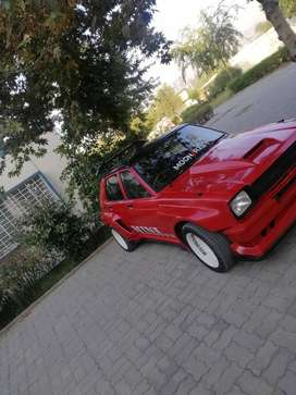 Toyota starlet 1982 up for sale